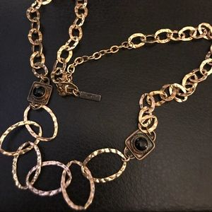 K. Amato gold necklace made of sterling silver